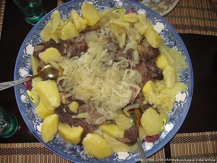 Салаты из овощей и мяса рецепты